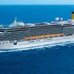 La Deliziosa - ultima nave di Costa a fermarsi, la prima a ripartire