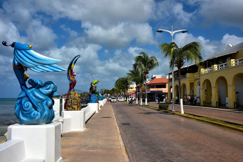 Cozumel-San Miguel Avenue Rafael E. Melgar