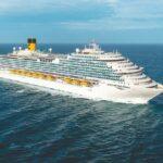 La nuova ammiraglia Costa Firenze presa in consegna da Costa Crociere