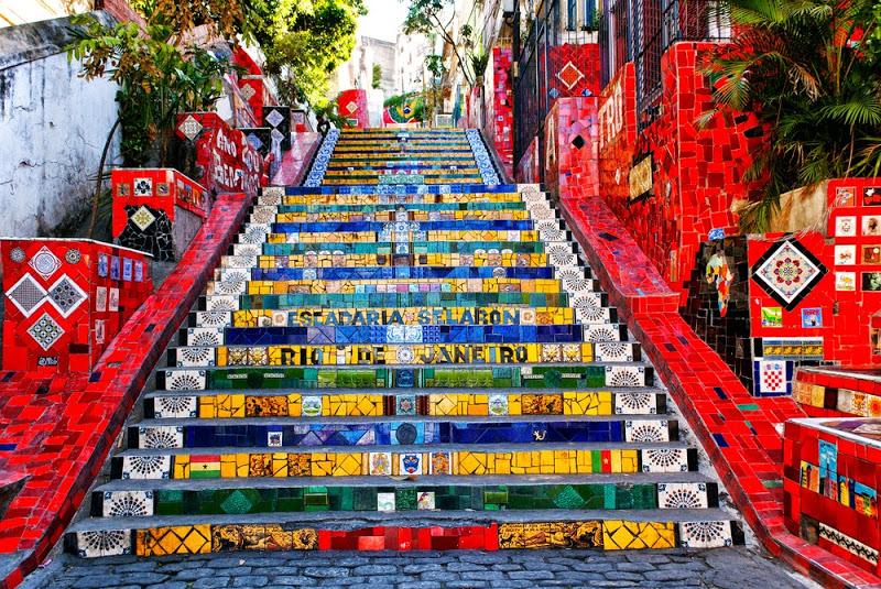 Rio de Janeiro - Escadaria Selaron