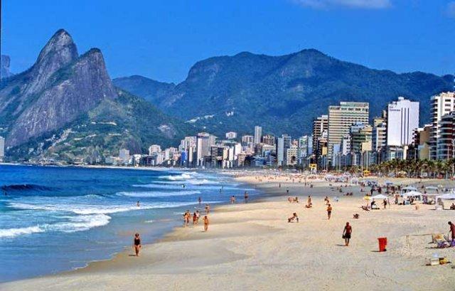 Rio de Janeiro - Spiaggia di Ipanema