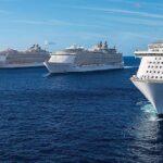 Posizionamento delle più grandi navi da crociera
