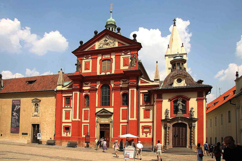 La Basilica e il Convento di San Giorgio - Praga