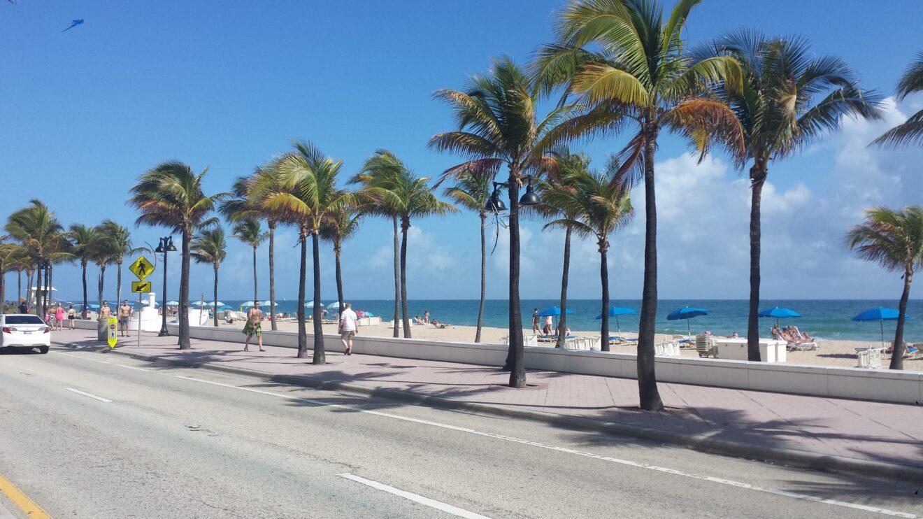 lungomare Miami beach