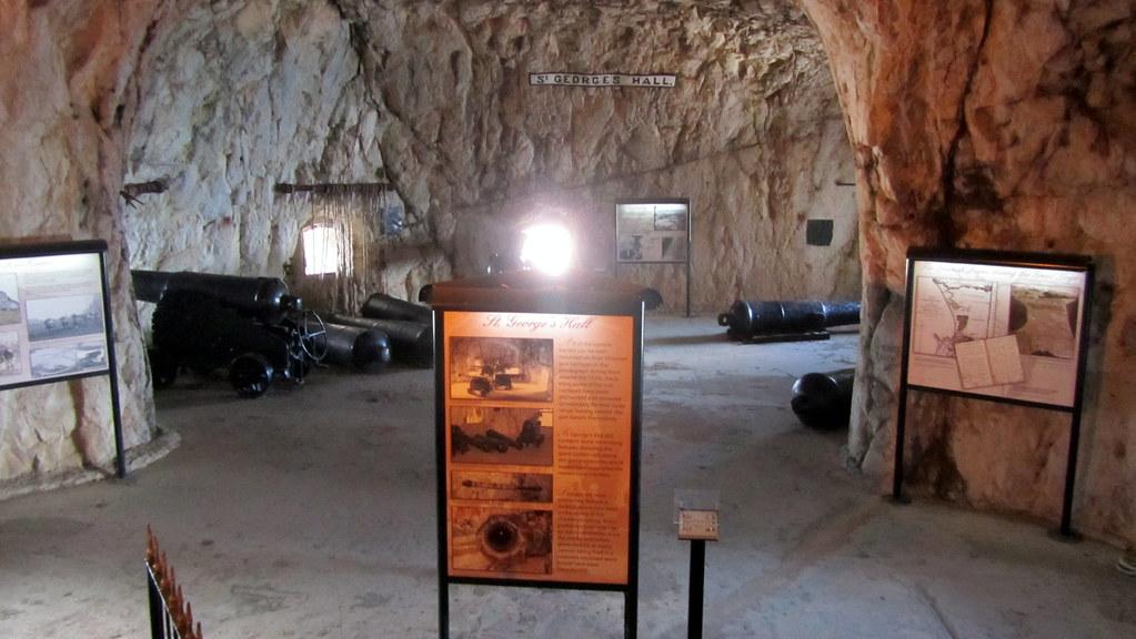 Gibilterra - great siege tunnels