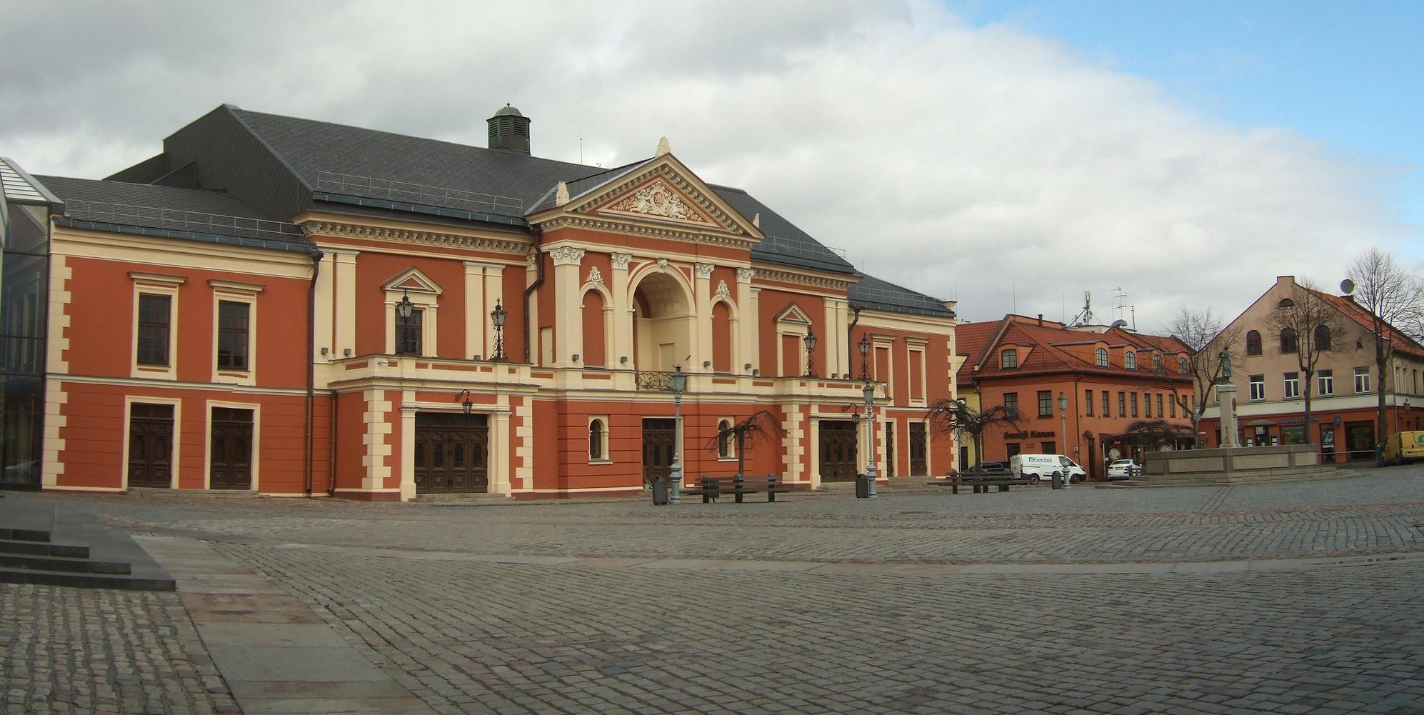 Piazza del teatro Klaipeda