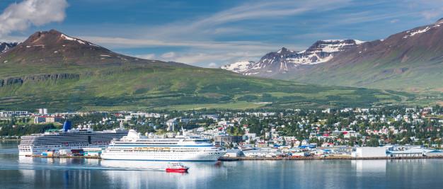 Akureyri - porto