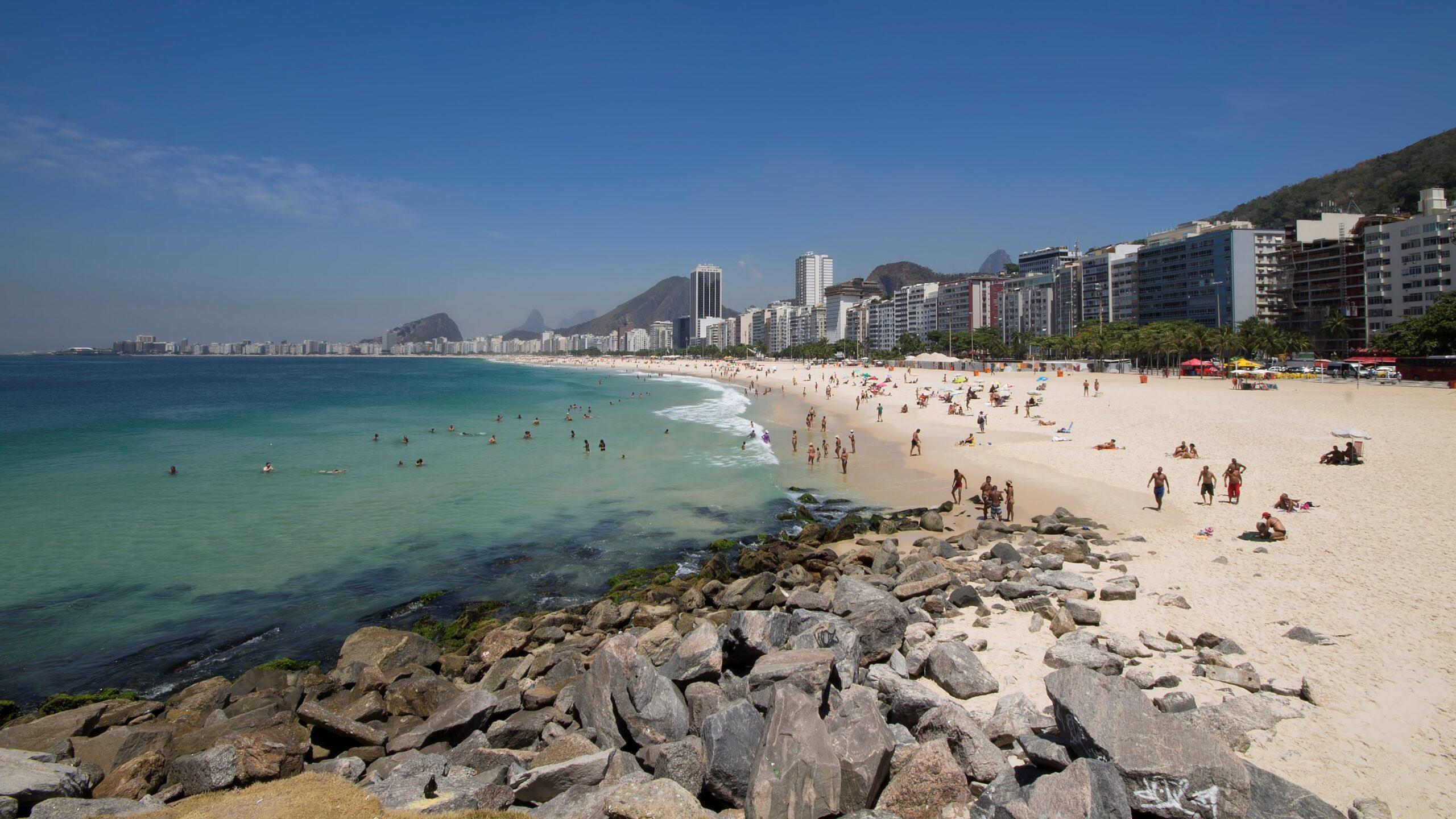 Rio de Janeiro - Spiaggia di Copacabana
