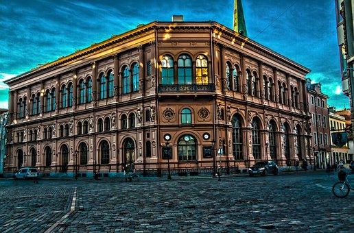 Palazzo della Borsa - Riga