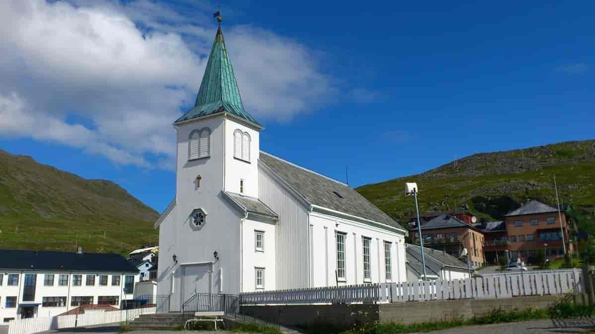 HONNINGSVAG - chiesa