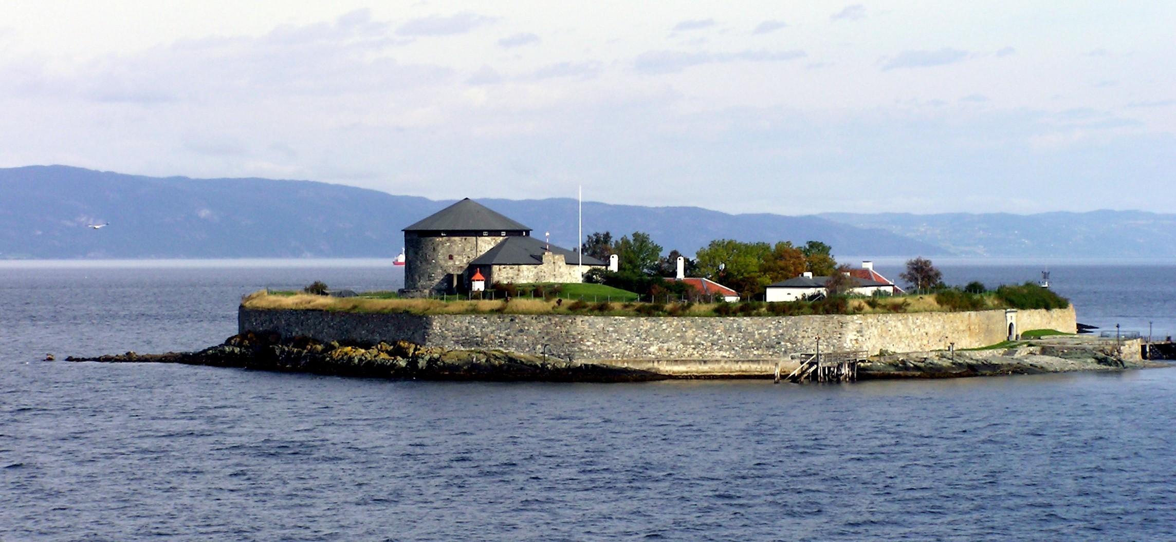 Trondheim - munkholmen